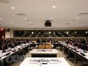 Debaten altos funcionaros de la ASEAN preparativos para Reunión de Cancilleres