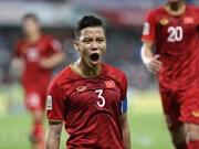 Tres jugadores vietnamitas incluidos en el mejor equipo de Copa Asiática 2019