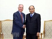 Premier recibe al primer embajador estadounidense en Vietnam