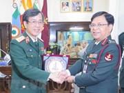 Vietnam y la India agilizan cooperación en medicina militar