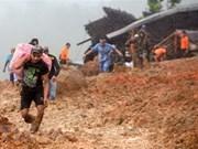Al menos 32 muertos en Indonesia por deslizamiento de tierra