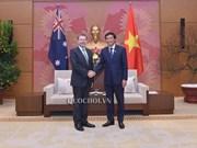 Vietnam pide apoyo de Australia al desarrollo del parlamento electrónico