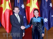 Respalda presidenta del Parlamento vietnamita la inversión de empresas australianas