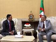 Presentan Grupo Parlamentario de Amistad Argelia-Vietnam