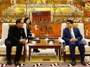 Hanoi aspira a establecer relaciones de hermandad con Bangkok