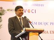 Destacan grandes oportunidades de cooperación entre Vietnam y India en sector farmacéutico