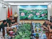 Vietnam y Camboya promueven cooperación en medicina militar