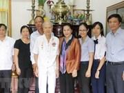 Presidenta parlamentaria de Vietnam visita ciudad sureña de Can Tho con motivo del Tet