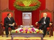 Vietnam atesora amistad con Tailandia, afirma máximo dirigente político