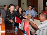 Presidenta del Parlamento de Vietnam realiza visita de trabajo a provincia sureña de Hau Giang