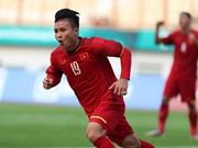 Eligen a futbolista vietnamita como el mejor de la clasificación de Copa Asiática