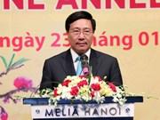Destacan aportes del cuerpo diplomático a logros de Vietnam en 2018