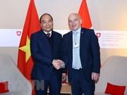 Concluye Premier de Vietnam agenda en Davos