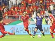 Destacan extraordinaria actuación de jugadores vietnamitas en Copa Asiática de fútbol