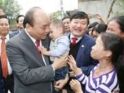 Premier vietnamita urge a provincia de Hung Yen a desarrollar parques industriales