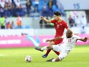 Prensa internacional resalta desempeño de selección vietnamita de fútbol en Copa Asiática