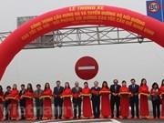 Premier de Vietnam asistió a inauguración de importante obra vial