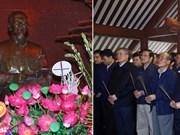 Premier vietnamita rinde tributo a Presidente Ho Chi Minh en ocasión del Tet