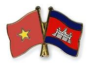 Autoridades de provincias camboyanas felicitan a localidad vietnamita por Año Nuevo Lunar