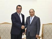 Recibe primer ministro de Vietnam a embajadores de Chile y Canadá