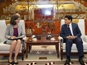 Promueven cooperación en múltiples sectores entre Vietnam y Canadá
