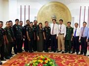 Visita delegación camboyana la provincia vietnamita de Soc Trang en ocasión del Tet