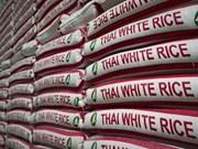 Superan exportaciones de arroz de Tailandia los 11 millones de toneladas en 2018