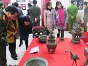 Realizan exposición de antigüedades de región fronteriza vietnamita
