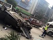 Al menos cuatro muertos en accidente de tráfico en Filipinas
