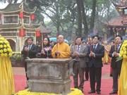 Fundirán campana de una tonelada en festival primaveral en Vietnam