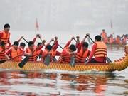 Celebrarán regata tradicional del barco de dragón en Hanoi