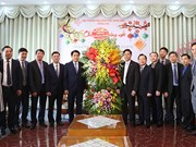 Autoridades de Hanoi visitan Iglesia Evangélica de Vietnam (Norte) con motivo del Tet