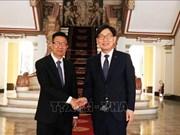 Ciudad Ho Chi Minh reafirma apoyo a sucursal del banco sudcoreano Nonghuyp
