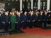 Efectúan acto fúnebre en memoria del ex miembro del Buró Político del PCV