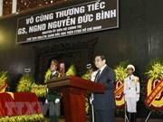 Realizan homenaje póstumo a ex miembro del Buró Político del Partido Comunista de Vietnam