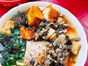 Sopa de fideos de caracol: un plato que caracteriza a Hanoi