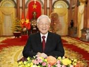 Mensajes de felicitación del Presidente vietnamita en Año del Cerdo