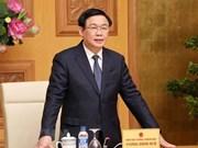 Vicepremier de Vietnam exhorta a crear nueva fuerza motriz para la economía nacional en 2019