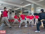 Autodefensa en escuelas con artes marciales vietnamitas tradicionales