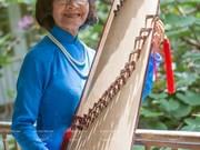 """Artista Pham Thuy Hoan y el sonido sin fronteras de """"Dan tranh"""""""
