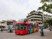 Hanoi ofrece servicio de city tour en autobús