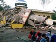 Ocurre sismo de 5,7 grados en escala de Ritcher en Indonesia