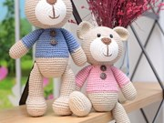 Taller de confección de muñecos de lana hechos a mano en Hanoi