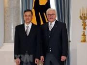 Embajador vietnamita presenta cartas credenciales al presidente de Alemania