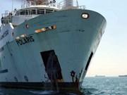 Buque de Grecia colisiona con embarcación de Malasia en aguas en disputa