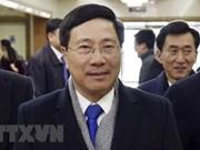 Vicepremier vietnamita inicia visita official a Corea del Norte