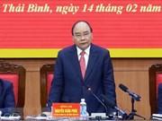 Premier vietnamita destaca logros socioeconómicos de provincia norteña de Thai Binh
