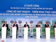 Inaugura Premier vietnamita diferentes proyectos importantes en provincia de Thai Binh