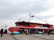 Inauguran  en Vietnam línea de transporte marítimo de alta velocidad entre Vung Tau y la isla de Con Dao