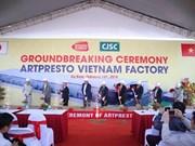 Construye grupo japonés fábrica de empaques en Vietnam